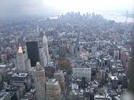 (Vy från Empire State Building nov 2004)
